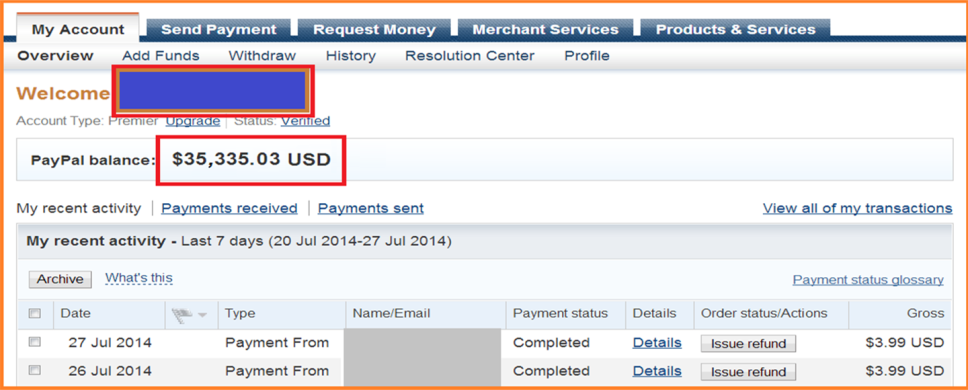 how to send money to a paypal me account